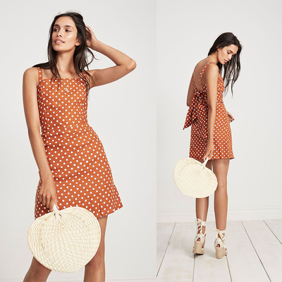 Baju Wanita Summer Beach Mini Bohemian Clothing